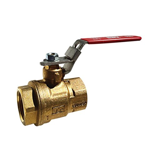 Red-White Valve 12RW5042 Full Port Auto-Drain Ball Valve (2 Piece), 1/2'' by Red-White Valve