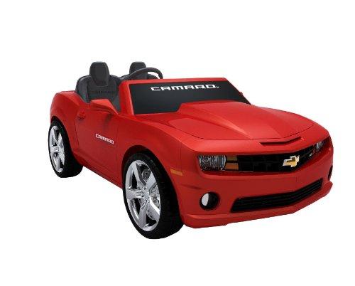chevrolet racing camaro in red - 2