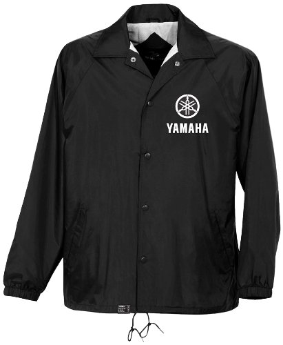 Factory Effex 'YAMAHA' Windbreaker Jacket (Black, Medium)