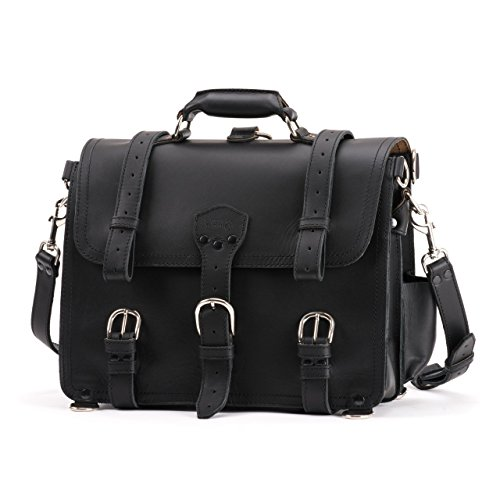 Saddleback Leather Classic Briefcase - The Original 100% Full Grain Leather Executive Briefcase Bag with 100 Year Warranty by Saddleback Leather Co.