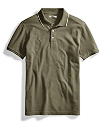 Goodthreads Men's Short-Sleeve Washed Pique Polo Shirt
