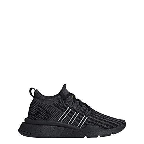 - adidas Boys EQT Support ADV MID J Black/Carbon/Yellow - B41919 (7)