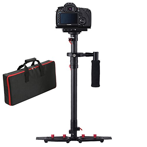 [Upgrade] Dazzne HD-2000 Carbon Fiber Camera Stabilizer 30.9