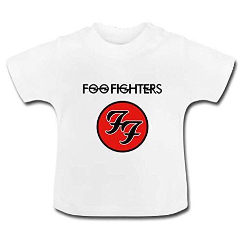 18 Months Baby Foo Fighters Logo White - Logo Mew