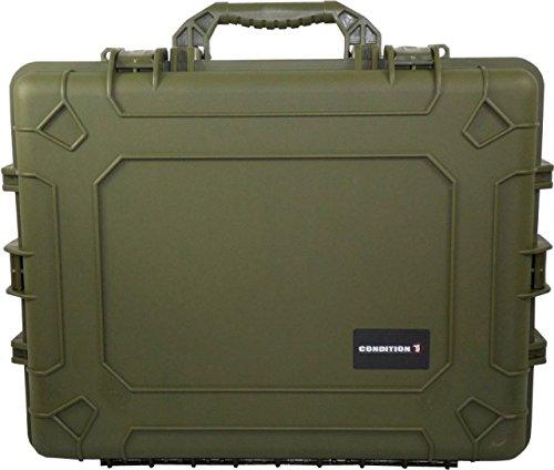 Condition 1 #024 Green Airtight/Watertight Protective Cas...