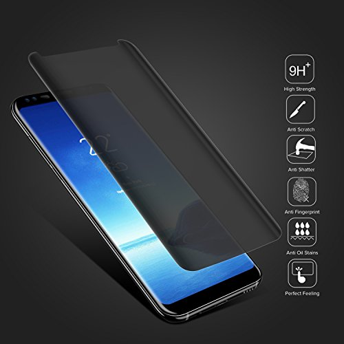 30%OFF Shilling 3D Galaxy S8 Screen Protector Privacy