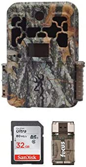Browning Spec Ops Advantage 20MP Trail Camera Color Display Bundle with 32GB SD Card and Focus USB Reader 3 Items