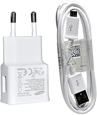 Samsung ETA-U90EWEGSTD - Cargador y cable de datos para Samsung Galaxy Note 4, color blanco