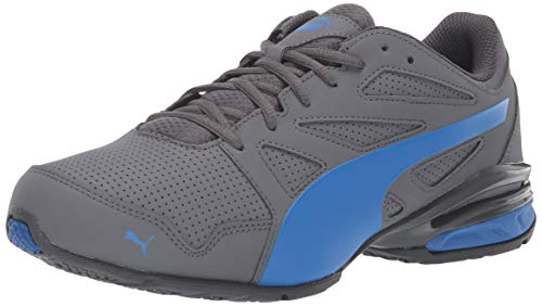 - PUMA Men's Tazon Modern SL FM Sneaker, Iron gate-Strong Blue, 11 M US