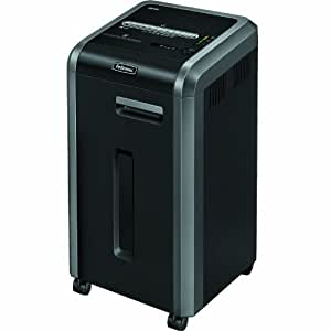 Fellowes Powershred 225Ci 100% Jam Proof 22-Sheet Cross-Cut Commercial Grade Paper Shredder