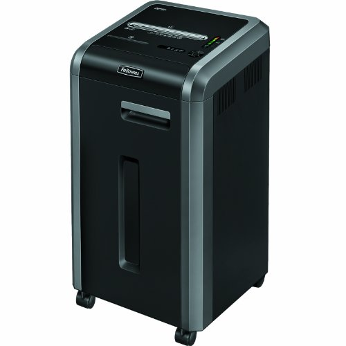 Fellowes Powershred 225Ci 100% Jam Proof 22-Sheet Cross-Cut Commercial Grade Paper Shredder by Fellowes
