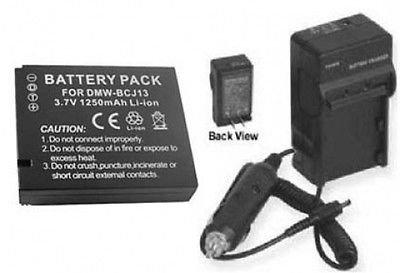 バッテリー+充電器for Panasonic dmclx5 K、Panasonic dmc-lx5 W、Panasonic dmclx5 W   B01DLNM636