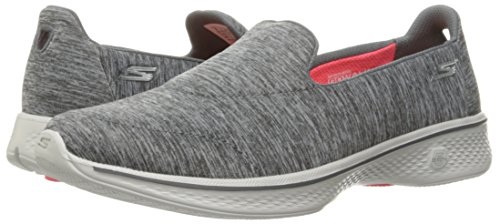 Image of the Skechers Performance Women's Go Walk 4 Achiever Walking Shoe,Gray,8 M US