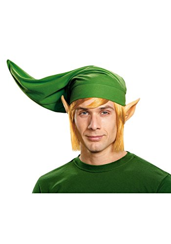Adult Link Costumes (Disguise Men's Link Deluxe Adult Costume Kit, Multi, One Size)