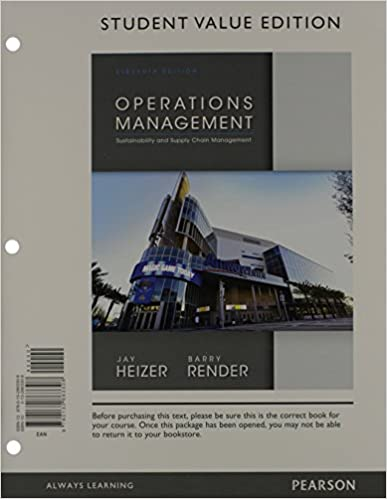 Operations management student value edition plus new mylab operations management student value edition plus new mylab operations management with pearson etext access card package 11th edition 11th edition fandeluxe Image collections