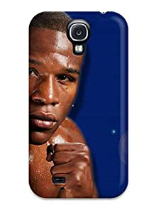 Rugged Skin Case Cover For Galaxy S4- Eco-friendly Packaging(mayweather)