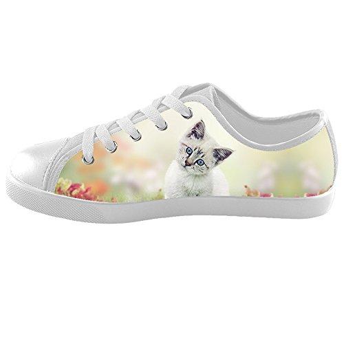 Custom Katzen malen Kids Canvas shoes Schuhe Footwear Sneakers shoes Schuhe C