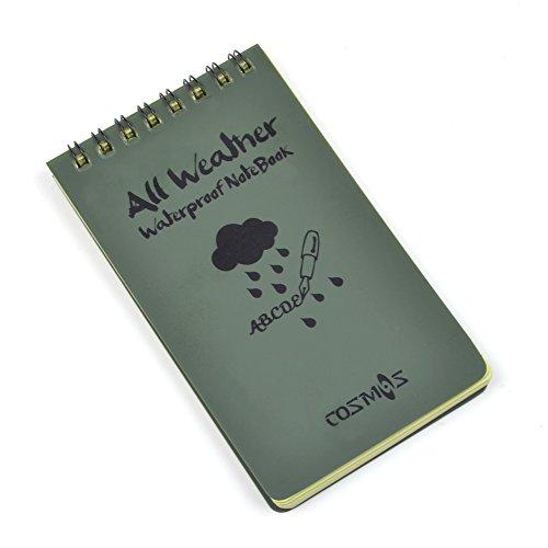 Cosmos Tactical All weather Waterproof Notebook