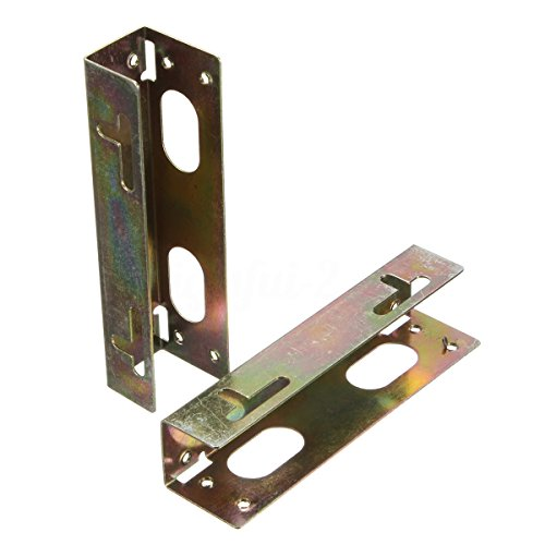 SODIAL(R) 3.5 inch HDD Hard Disk Drive to 5.25 inch Bay Desktop PC Case Mounting Bracket Adaptor