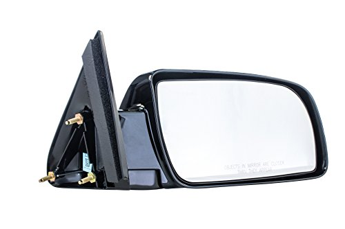 (Right Passenger Side Mirror Manual Remote Operated Non-Heated for 92-94 Chevy Blazer, 92-99 Suburban, 92-2000 GMC Yukon, 95-2000 Tahoe, 88-98 C1500 C2500 C3500 - Parts Link #: GM1321123)