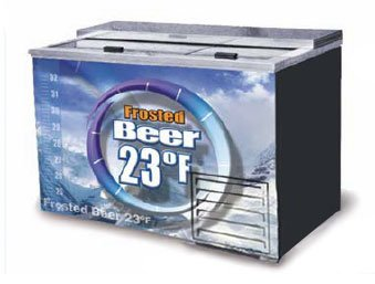 FOGEL Horizontal Beer Froster 2-section 15 cu. ft. - FROS...