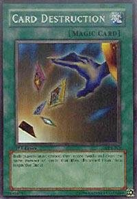 Yu-Gi-Oh! - Card Destruction (SDY-042) - Starter Deck Yugi - Unlimited Edition - Super Rare
