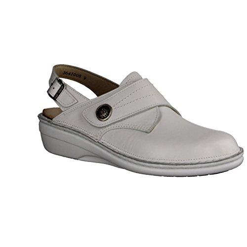 Finn Comfort - Sandalias de vestir para mujer blanco blanco