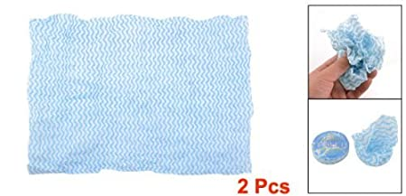 Amazon.com: Comprimido mágico desechables toallas de cara 2 en 1 Azul Blanco: Health & Personal Care
