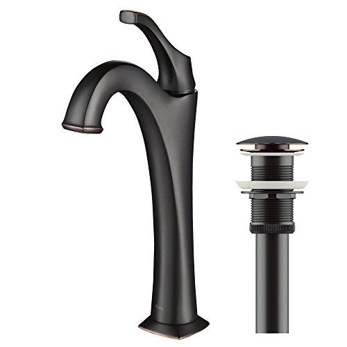 Kraus KVF-1200ORB Arlo Bathroom Faucet, 12.13, Oil Rubbed Bronze