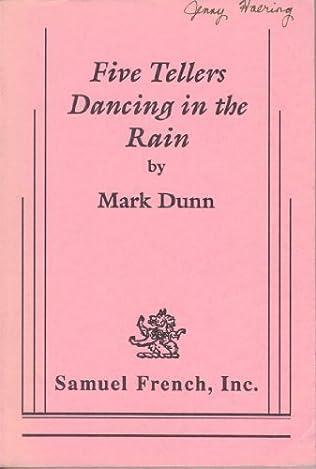 book cover of Five tellers dancing in the rain