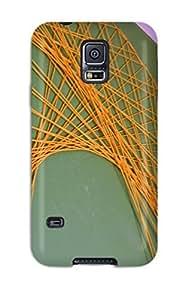 High Grade Valerie Lyn Miller Flexible Tpu Case For Galaxy S5 - String Art