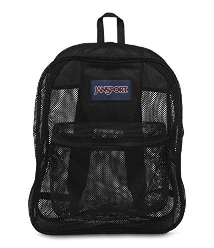 (JanSport Mesh Pack Backpack Black)