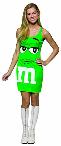 Rasta Imposta M&M's Tank Dress, Green, Teen 13-16