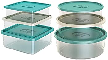 Life Story Homemade Food Storage Containers 12-Piece Set