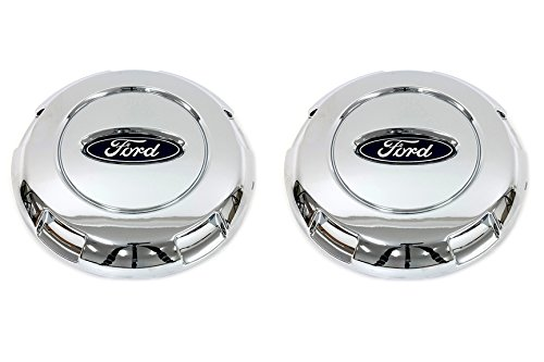 Center F150 Ford Cap - 04-08 Ford F150 03-04 Expedition Chrome 17 Inch Wheel Hub Cover Center Caps OEM