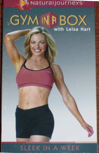 (Gym in a Box with Leisa Hart: Sleek in a Week, My Personal Trainer (Natural Journeys))