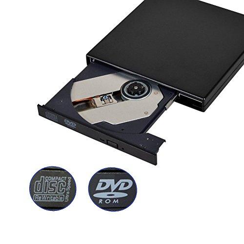 tengertang External CD DVD Drive-external cd dvd drive usb 2.0 dvd optical drive pc dvd drive for Laptop Notebook PC Desktop Computer(Black) by tengertang (Image #6)