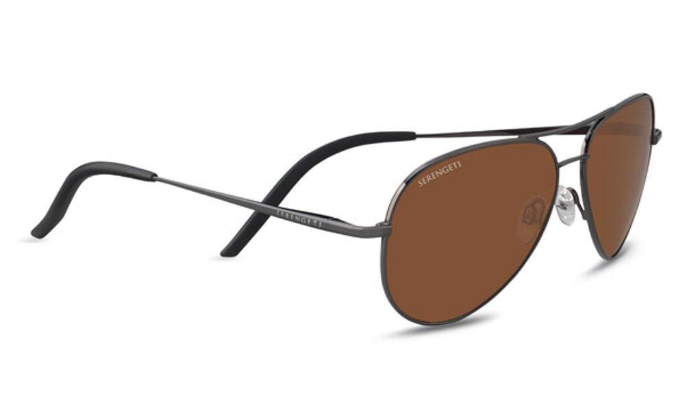 Serengeti 8555 Gafas, Unisex Adulto, Plateado (Shiny Gunmetal), S: Amazon.es: Deportes y aire libre