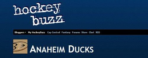 Ducks Buzz (Teemu Nhl Selanne)