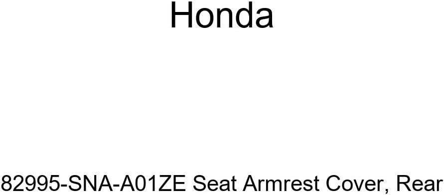 Rear Honda Genuine 82995-SNA-A01ZF Seat Armrest Cover