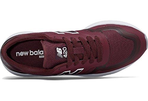 New Balance Wrl420, Zapatillas de Running para Mujer Rojo (Burgundy)