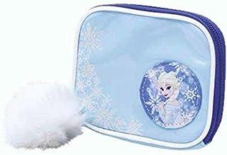 Portefeuille La Reine des neiges Elsa Bleu clair avec pompon de fourrure Cod. 6866 GIOCHI PREZIOSI