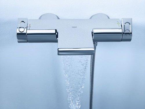 Relativ Amazon.com: GROHE THM-bathtub mixer Grohtherm 2000 34174 wall  YE52