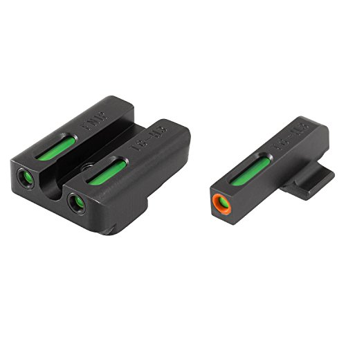 TRUGLO TFX Pro Tritium and Fiber Optic Xtreme Hangun Sights for Glock Pistols from TRUGLO