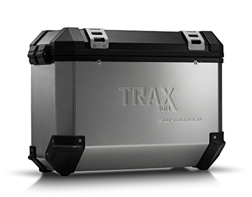 SW-MOTECH TRAX ION 37-Liter Side Case - Left | Aluminum Silver ()