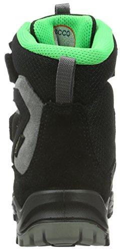 ECCO Xpedition, Zapatillas de Deporte Exterior para Niños Negro (BLACK-CONCRETE59657)