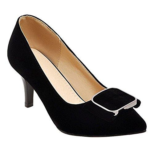 Mee Shoes Damen elegant high heels ohne Verschluss Pumps