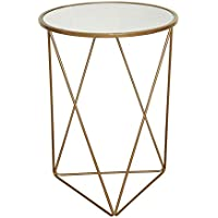 Kinfine K7243 Metal Accent Table