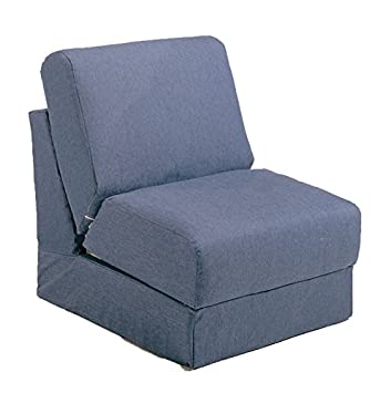 Amazon.com: Fun Mobiliario Teen silla con almohada, Denim ...