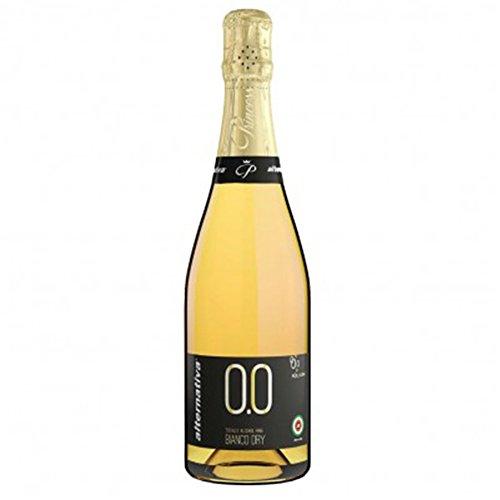 Extra Dry Sparkling Wine - Princess Bollicine Bianco Dry Non-Alcoholic Sparkling White Wine 750ml